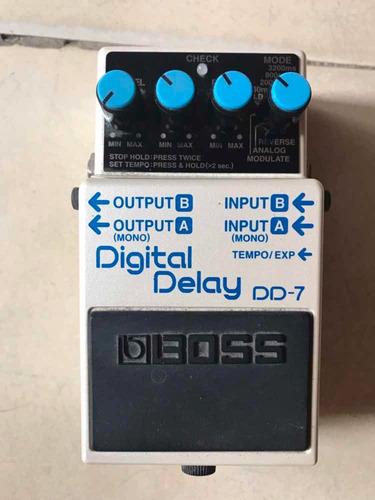 pedal boss dd7 delay