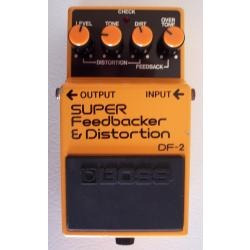 pedal boss df-2 super feedbacker & distortion