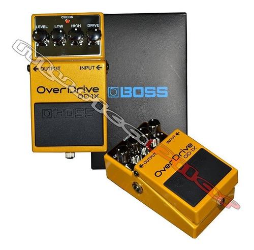 pedal boss distorsion overdrive od1x musica pilar