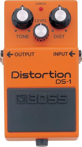 pedal boss ds 1 distortion ds1 boss distorção para guitarra