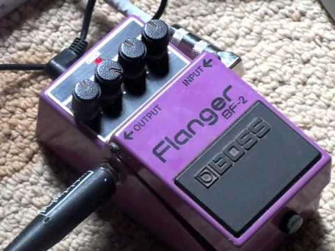 pedal boss fb2 flanger
