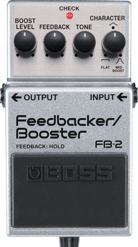 pedal boss feedbacker/booster fb-2