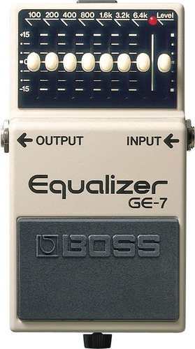 pedal boss ge-7 graphic equalizer