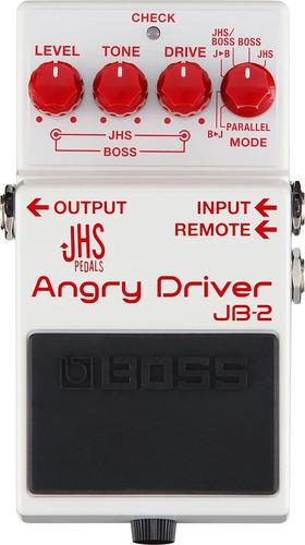 pedal boss jb-2 angry driver nf-e e garantia 1 ano jb 2