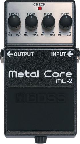 pedal boss ml2 metal core na cheiro de música loja!