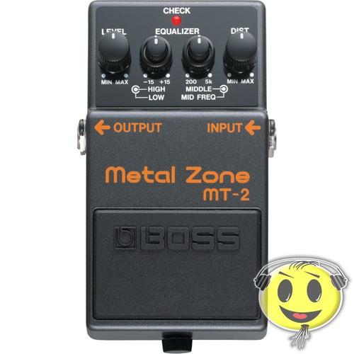 pedal boss mt 2 metal zone mt2 + fonte loja kadu som