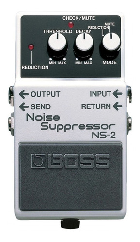 pedal boss noise suppressor ns-2 pedal suprime ruidos