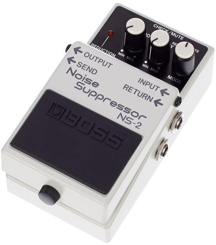 pedal boss ns2 noise supressor reductor de ruido