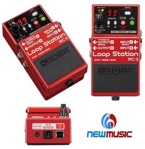 pedal boss rc-3 loop station