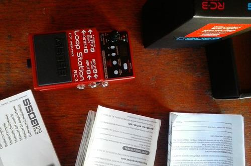 pedal boss rc3 loop station 99 memórias
