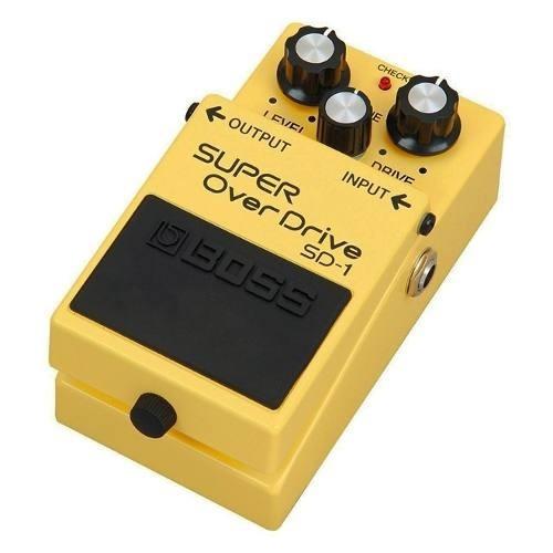 pedal boss sd 1 super overdrive sd1 + fonte hayonik kadu som
