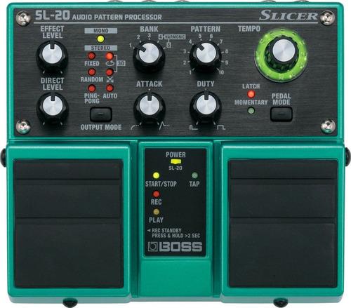 pedal boss sl20 slicer