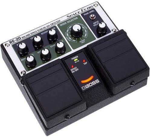 pedal boss space echo re20