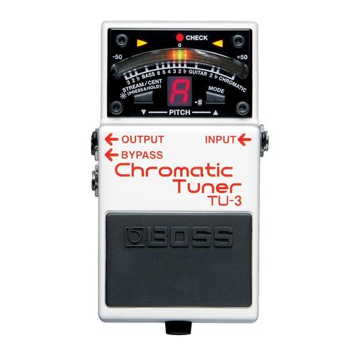 pedal boss tu-3 tuner afinador cromático display com tu3
