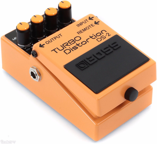 pedal boss turbo distortion ds2 + brinde + nfe + garantia
