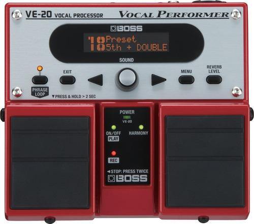 pedal boss ve-20 procesador vocal super precio de promocion