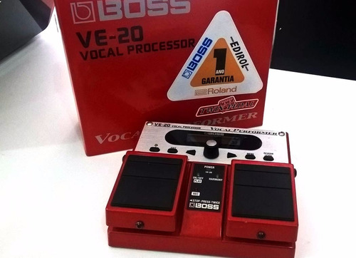 pedal boss ve-20 - semi nova - frete grátis