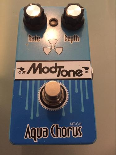 pedal boutique mod tone aqua chorus / envío gratis
