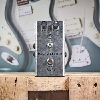 pedal buffer fender level set  novo + nf + garantia!