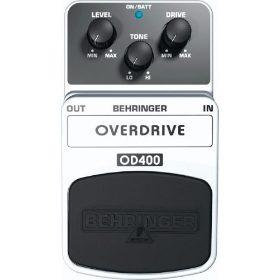 pedal clasico od400 behringer overdrive clasico calido nuevo