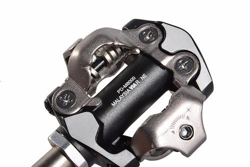 pedal clip shimano deore xt pd-m8000 preto c/ tacos sm-sh51