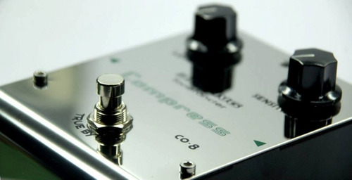 pedal compresor  co8 biyang compresor análogo true bypass