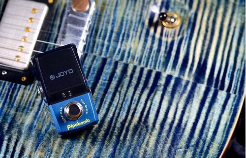 pedal compressor joyo jf-312 pipebomb guitarra eléctrica