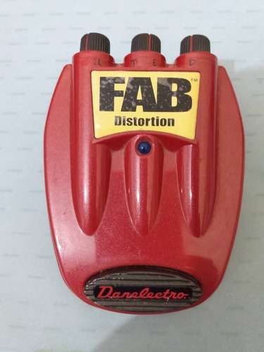 pedal danelectro fab distortion