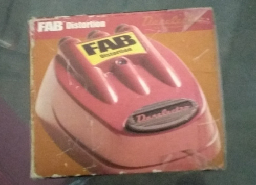 pedal danelectro fab metal