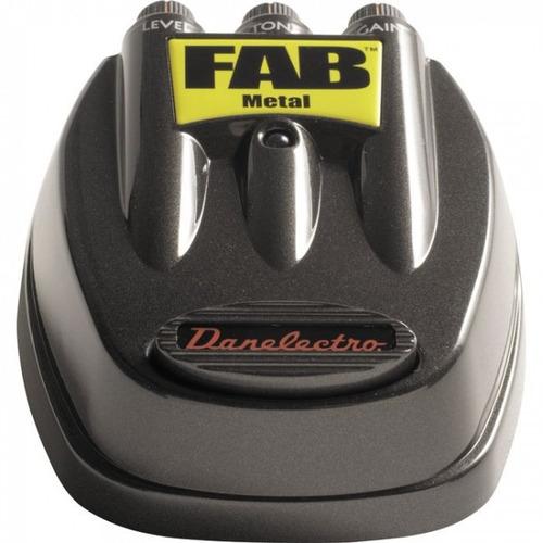 pedal danelectro fab - metal (d-3) para guitarra