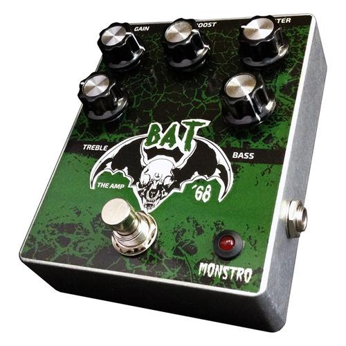 pedal de baixo bat the amp monstro fx overdrive fuzz