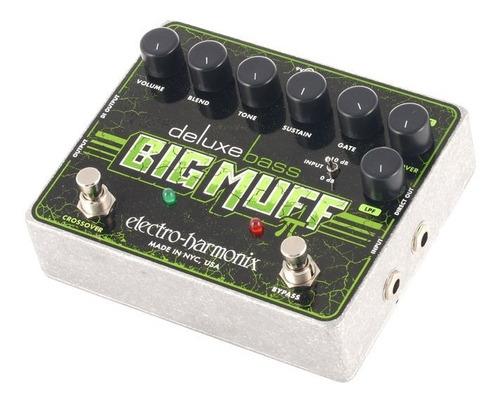 pedal de bajo distorsion electro harmonix deluxe big muff pi