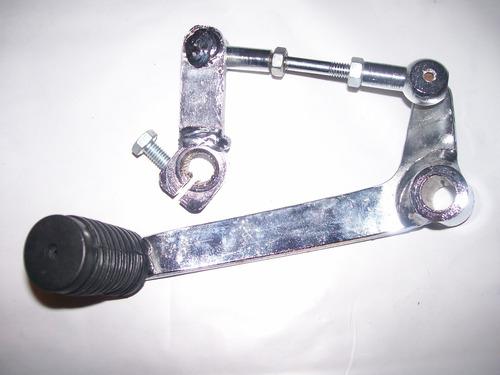 pedal de cambio cromado modelo original honda cb 400 450