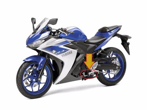 pedal de cambios yamaha yzf r3 mod: 2015-2017 original