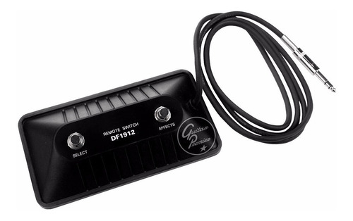pedal de corte footswitch 2 canales cable guitarra bajo ampl