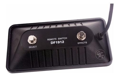 pedal de corte footswitch 2 canales cable guitarra bajo ampl