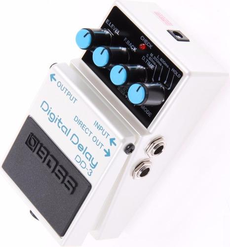 pedal de delay boss dd-3 para guitarra