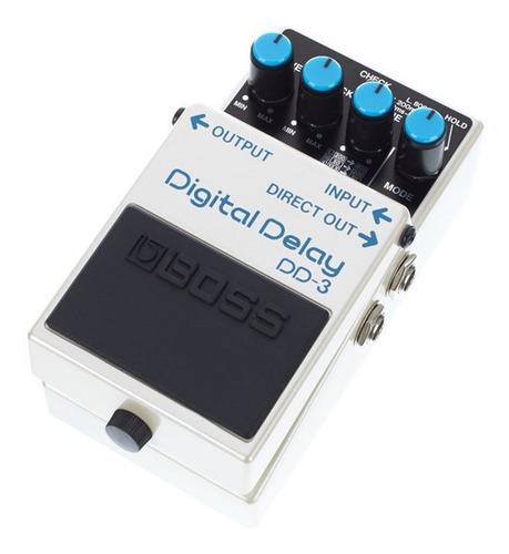 pedal de delay boss dd-3 para guitarra promoção