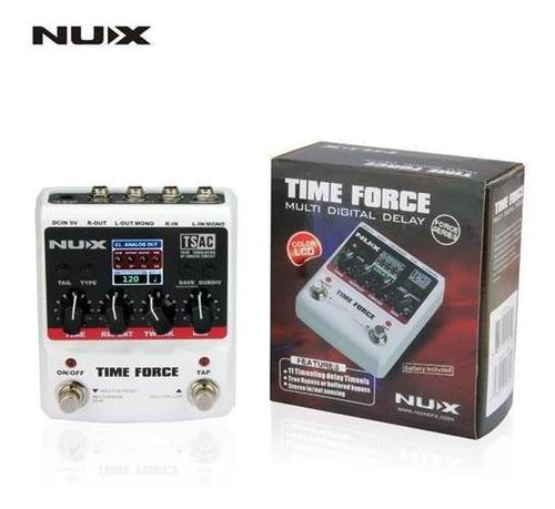 pedal de delay nux time force
