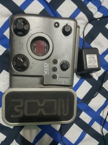 pedal de distorción para guitarra electrica zoom g1x