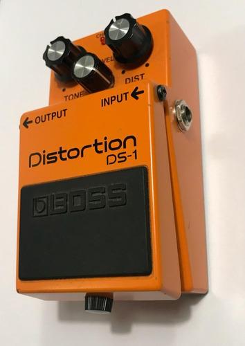 pedal de distorção boss ds-1 para guitarra