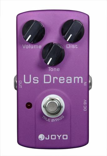 pedal de distorção drive joyo us dream jf-34 profissional