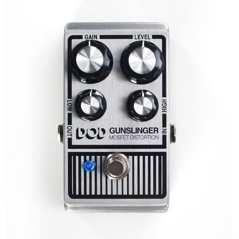 pedal de distorção guitarra digitech gunslinger pedaleira