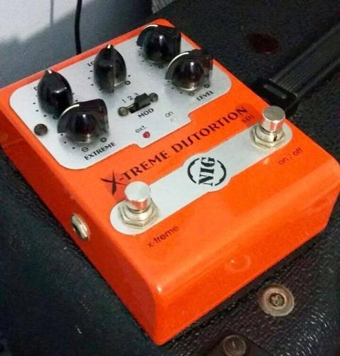 pedal de distorção nig xd1 x-treme guitarra usado