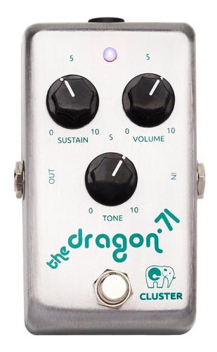 pedal  de distorsión fuzz sustainer  | cluster the dragon-71