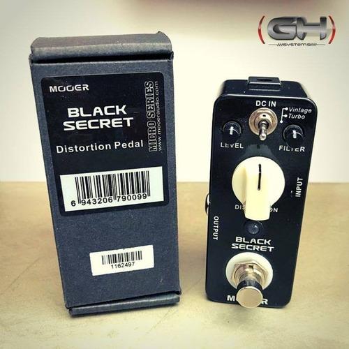 pedal de distorsión mooer black secret (demo)