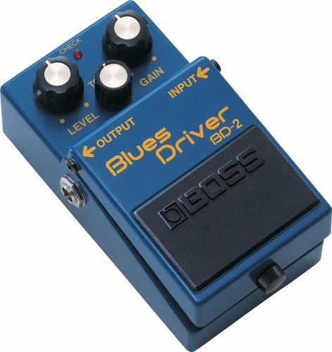 pedal de efecto bd2 blues driver  boss