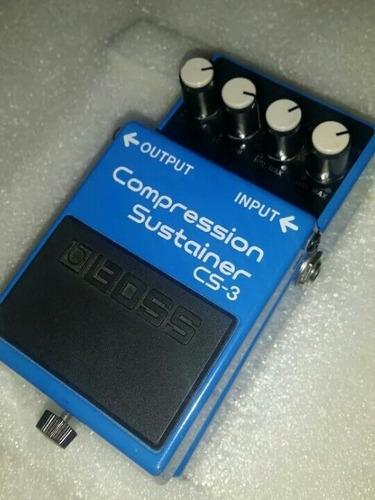 pedal de efecto boss cs-3 compression sustainer