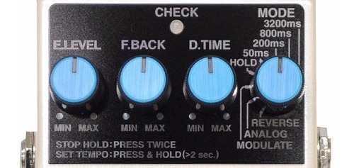 pedal de efecto dd7 stereo digital delay  boss