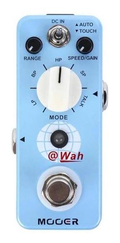 pedal de efecto de auto wah  mooer @wah